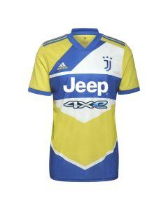 Front of the Juventus 21-22 kids third shirt.