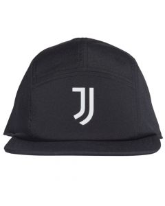 Front of the Juventus 2020/21 black 5p cap
