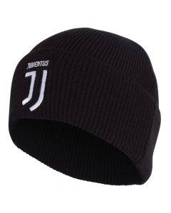 Juventus Adidas black beanie hat 19/20