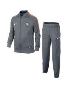 Juventus Knit Warm-Up Tracksuit 2014 - 2015 (Grey)