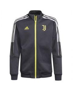 Juventus kids anthem jacket 21/22 (Carbon)