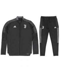 Juventus 21/22 Junior Tracksuit (Carbon)