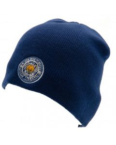 Leicester City Blue Beanie Hat