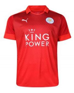 Leicester City Kids Away Football Shirt 2016-17