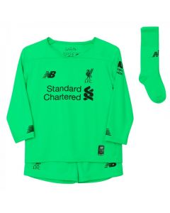 Liverpool Kids Away Goalkeeper Kit 2019/20