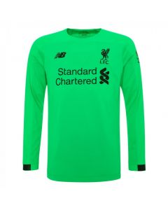 Liverpool Kids Away Long Sleeve Goalkeeper Shirt 2019/20