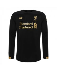 Liverpool Kids Long Sleeve Home Goalkeeper Shirt 2019/20