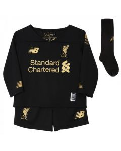 Liverpool Kids Home Goalkeeper Kit 2019/20