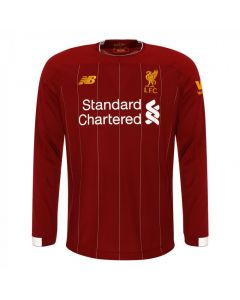 Liverpool Kids Long Sleeve Home Shirt 2019/20