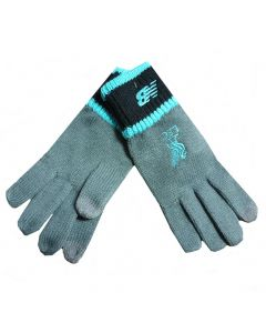 Liverpool Grey Knitted Elite Gloves 2019/20