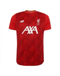 Liverpool Kids Red Off Pitch Lightweight T-shirt 2019/20