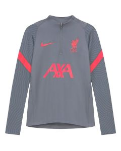 Liverpool Light Grey Strike Drill Top 2020/21