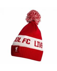 Liverpool Red Pom Pom Beanie 2020/21