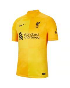 Liverpool Kids Away Goalkeeper Shirt 2021/22
