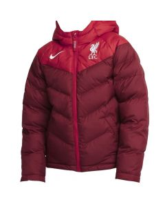 Liverpool Kids Red Synthetic Fill Jacket 2021/22