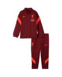 Liverpool Kids Red Strike Tracksuit 2021/22