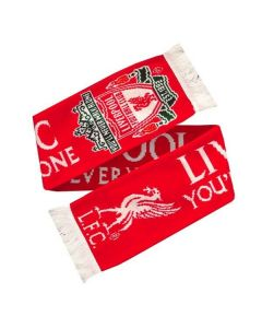 Liverpool Walk Alone Jacquard Scarf