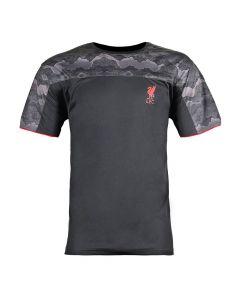 Liverpool Black Camo Panel T-Shirt 2020/21