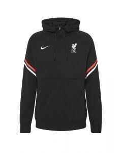 Liverpool Black Travel Hoodie 2021/22