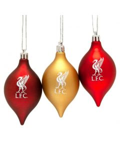 Liverpool 3 Pk. Christmas Baubles