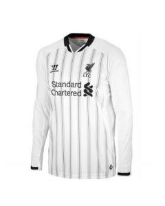 Liverpool Boys Home Long Sleeve Goalkeeper Top 2013 - 2014