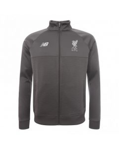 Liverpool New Balance Elite Grey Walk Out Jacket 2018/19 (Kids)