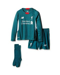 Liverpool Boys Away Goalkeeper Kit 2015 - 2016