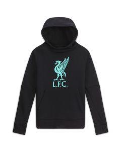 Liverpool 20/21 kids black Nike hoodie