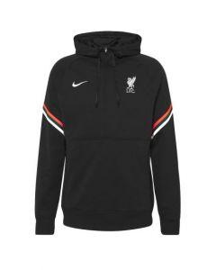 Liverpool Kids Black Travel Hoodie 2021/22