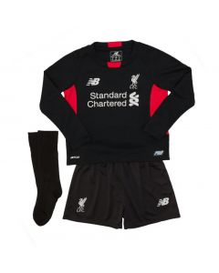 Liverpool Kids (Boys Youth) Home Goalkeeper Kit 2015 - 2016