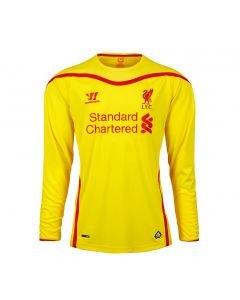 Liverpool Kids (Boys Youth) Long Sleeve Away Jersey 2014 – 2015
