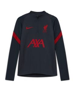 Liverpool 20/21 junior strike drill top (anthracite)