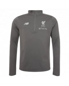 Liverpool New Balance Grey Hybrid Sweater 2018/19 (Adults)