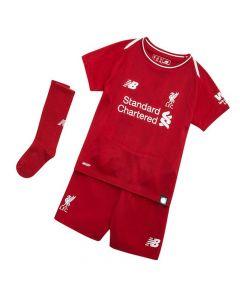 Liverpool Home Little Boys Football Kit 2018/19