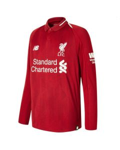 Liverpool Long Sleeved Kids Home Shirt 2018/19