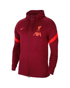 Liverpool 21/22 red hooded training jacket