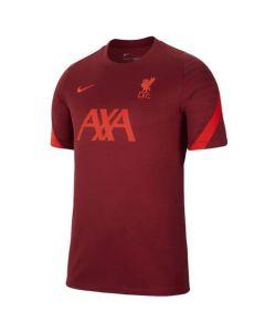 Liverpool kids red strike training top 21/22