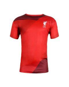 Liverpool Red Tonal Print T-Shirt 2020/21
