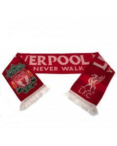 Liverpool YNWA Crest Scarf