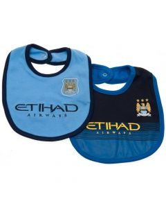 Manchester City Baby Bibs 2014/15
