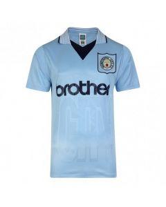 Manchester City 1996 Retro Home Shirt