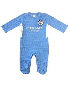 Manchester City Baby Sleepsuit 2021/22