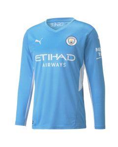 Manchester City Long Sleeve Home Shirt 2021/22