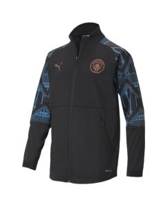 Man City kids black stadium jacket 20/21