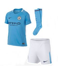Manchester City Kids Home Kit 2017/18