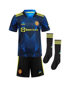 Manchester United Kids Third Kit 2021/22
