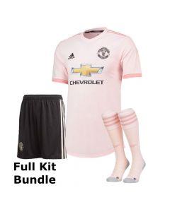 Manchester United Kids Away Kit Bundle 2018/19