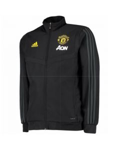 Man Utd Adidas presentation jacket black 19/20