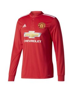 Manchester United Long-Sleeve Home Shirt 2017/18