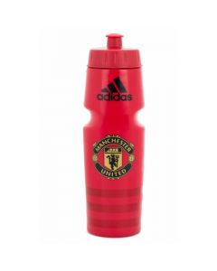 Manchester United red Adidas drinks bottle 19/20